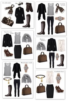 Work outfits, fall/winter