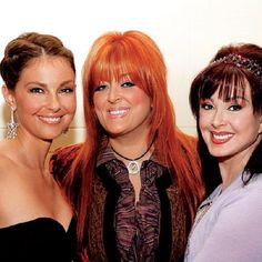 The Judds-Ashley, Wynonna and their mother Naomi