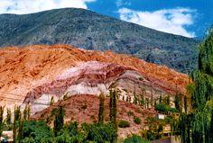 Cerro de los Siete colores.Salta.Norte Argentino