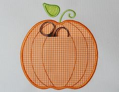 Pumpkin Pocket - 3 Sizes!   What's New   Machine Embroidery Designs   SWAKembroidery.com Applique for Kids