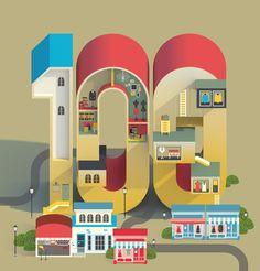 Drapers - 100 Inspiring Indies by Jing Zhang, via Behance