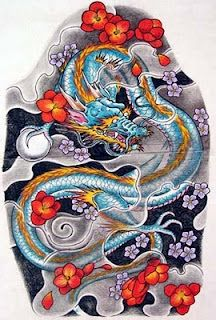 Japanese Dragon idea for my under arm