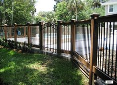 Residential Fence Ideas | ... and Fences - Design, Fabrication and Installation for Residential
