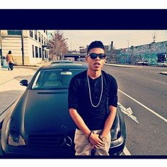 photo of Bryshere Gray Mercedes - car
