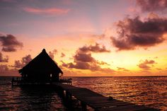 Sunrise in Paradise by David M Hogan - Now on Google+ too, via Flickr