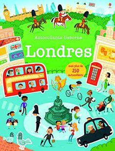 Livre Londres bébé 0-2 ans Autocollant voyage