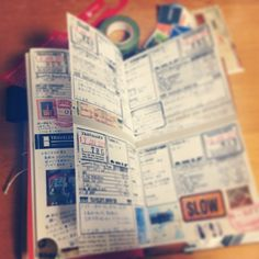 Travelersnote travel diary art journal