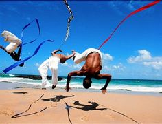 capoeira: resistance, beauty, strength, discipline, fun and self-defense.