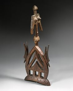 Headdress (Koni Koun) |   19th–20th century Mali Bamana peoples | The Met