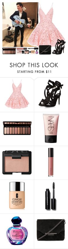"""""""Shawn 😊"""" by xonfident ❤ liked on Polyvore featuring Alex Perry, Forever 21, NARS Cosmetics, Laura Mercier, Clinique, Bobbi Brown Cosmetics and rag & bone"""