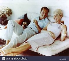 Rock Hudson and Doris Day 👌🏽👌🏽❤️❤️🌹🌹