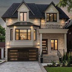 Small Cottage Designs, Small House Design, Dream Home Design, Best Tiny House, Small House Plans, Modern Farmhouse Exterior, Dream House Exterior, Traditional House, Exterior Design