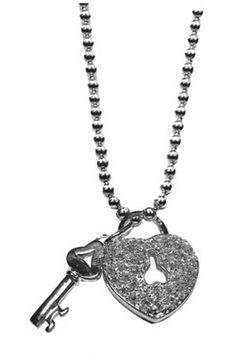 Tiffany Necklaces Jewelry Heart Lock Key Bead Chain Necklace This Tiffany Jewelry Product Features: Category:Tiffany & Co Necklaces Material: Sterling Silver Manufacturer: Tiffany And Co
