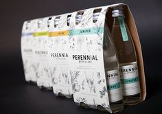 Student: Perennial Distillery \\ The Dieline - Designed By: Anelese Webster, USA Beverage Packaging, Bottle Packaging, Packging Design, Project Board, Pretty Packaging, Creativity And Innovation, Class Projects, Brainstorm, Student Work