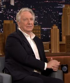 Alan Rickman on Jimmy Fallon | June 2015