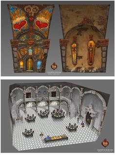 Concept Art by Jordan Lamarre-Wan for The Book of Life.