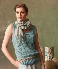 Ladies Lace Top | free Schachenmayr pattern