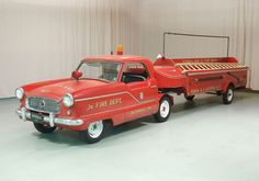1960 Nash Metropolitan Fire Truck