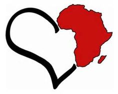 tatoo ideas home: where my heart is. Art Black Love, Black Girl Art, My Black Is Beautiful, Art Girl, Afrika Tattoos, Africa Outline, African Symbols, Afrique Art, Desenho Tattoo
