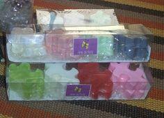 Lindos mini sabonetes em formato de blocos de montar!! A criançada vai adorar!!!
