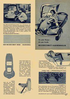 1952 Messerschmitt-Kabinenroller KR 200 or KR 175