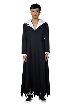 Mtxc Men's Bleach Cosplay Zangetsu Size XX-Small Black Mtxc http://www.amazon.com/dp/B00JAI1AUW/ref=cm_sw_r_pi_dp_doCRub0F3ZR7Q
