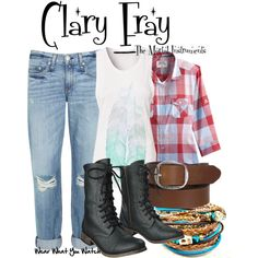 Clary Fray (The Mortal Instruments: City of Bones) Inspired Outfit- except I would wear brown boots instead of black Casual Cosplay, Cosplay Outfits, Clary Fray Outfit, Fandom Fashion, Nerd Fashion, Character Inspired Outfits, Cool Outfits, Fashion Outfits, The Mortal Instruments