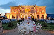Beatrice de Rothschild's villa in the Cote d'Azure, France