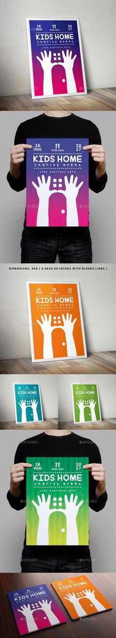 Kids Home Charity Event Flyer - Miscellaneous Events