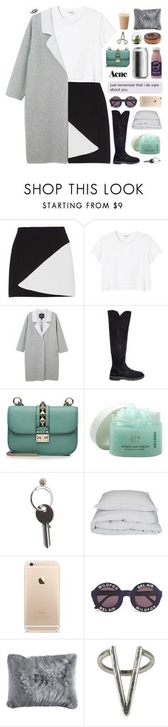"""The New Classics With UGG: Contest Entry"" by lush-p0ints ❤ liked on Polyvore featuring BCBGMAXAZRIA, Monki, UGG, Valentino, Minus 417, Maison Margiela, By Nord, Wildfox, Pier 1 Imports and The 2 Bandits"