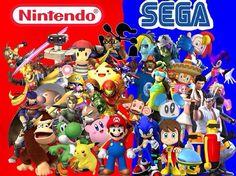 Qual dos dois você prefere?  #Nintendo #Sega #games #nerd #geekando #gamer #geek