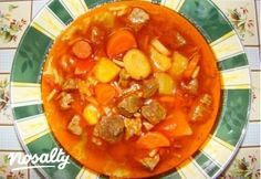 Goulash Soup, Stew, Thai Red Curry, Delish, Paleo, Pork, Food And Drink, Baking, Fruit