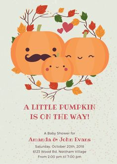 Types Of Printer, Little Pumpkin, Autumn Theme, Name Cards, Handmade Soaps, Baby Halloween, Etsy App, Baby Shower Themes, Sell On Etsy