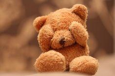 i love a well worn stuffed teddy likescupcakes