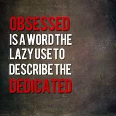Dedicated! ~ Re-Pinned by Crossed Irons Fitness