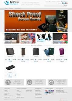 Business eCommerce View Store