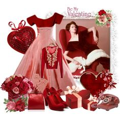 """Be My Valentine"" by pinkfrosting2 on Polyvore"