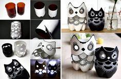 Owl Luminaries