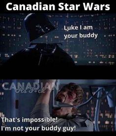 Canadian Memes, Buddy Guy, Star Wars Luke, In A Nutshell, What Is Like, Make It Yourself, Humor, Feelings, How To Make