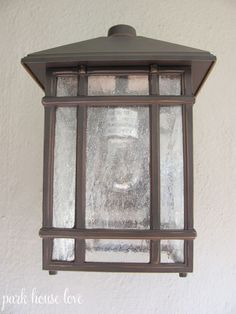 Jardin du Jour Sierra Craftsman Outdoor Wall Light