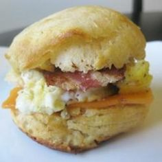 #recipe #food #cooking Breakfast Biscuits food-and-drink