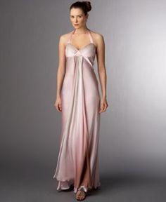 ABS by Allen Schwartz Long Ombre Dress
