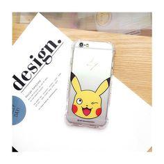 Neu cartoon Pokemon Figur transparente sillikon Handyhülle für Apple