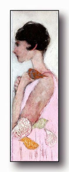 PAQUEREAU Véronique PLASTICIENNE: 3 toiles présentées au Art-Fair d'Amsterdam ( 10/30cm)