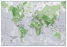 19 Best World Wall Maps images in 2018   Map shop, Map wall art