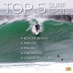 Top 5 Surf Spots In SoCal — Cabo Chips · Taste The Experience
