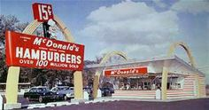 Vintage McDonald's   Vintage McDonald's 1960s   By: encanto_sunland ...