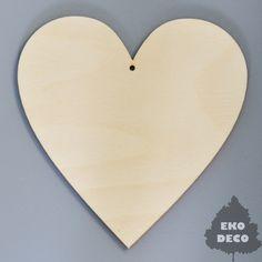 Zawieszka serce - duże D106