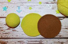 Amigurumi turtle crochet coaster pattern free