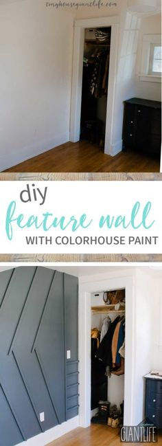 Moody DIY Feature Wall | One Room Challenge Week 3